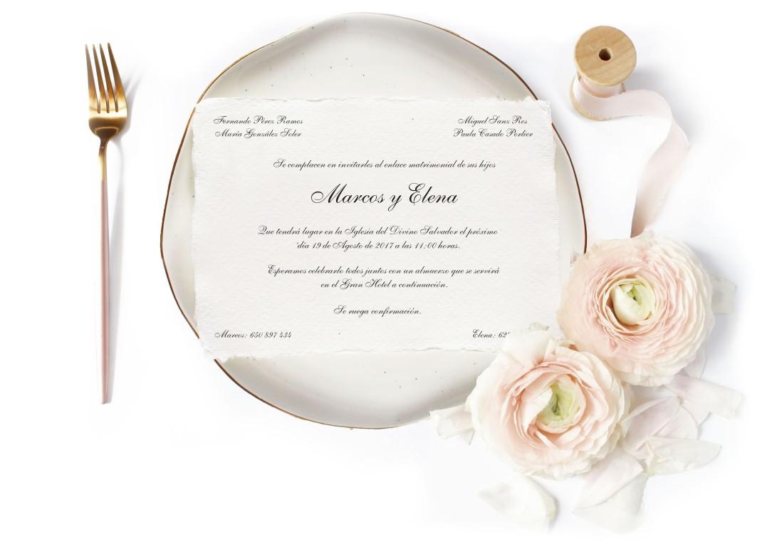 diseño invitación boda- nunu